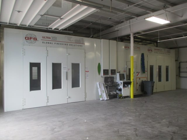 lithia paint booth