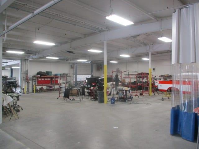 auto body bend or work floor